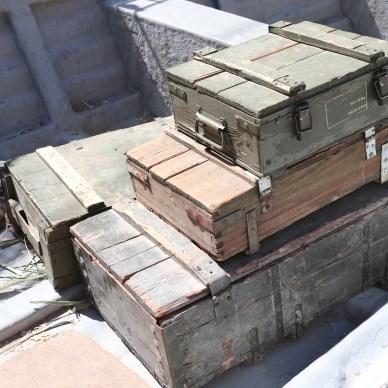 Boxes for long-term gun storage