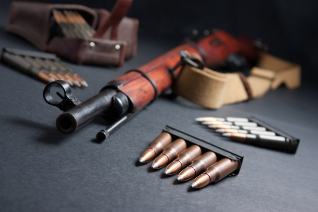 Military Surplus Rifle and Ammo