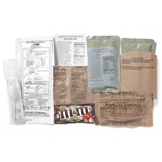 MRE Survival Products