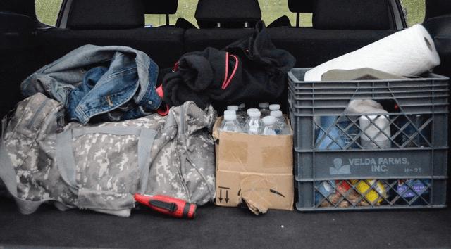Truck Gun Storage stuff in trunk