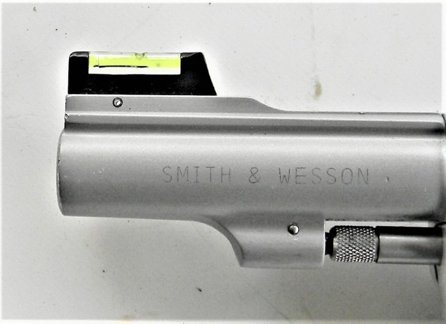 Smith & Wesson Revolver with Fiber-Optic Front Sight