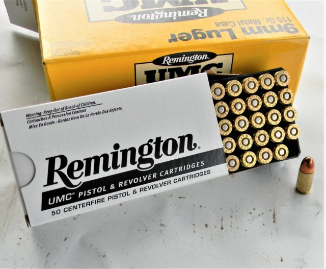 Remington 9mm Luger Ammo