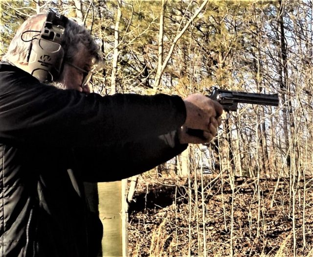 Man Shooting Colt Python Grail Guns - blog posts 2020