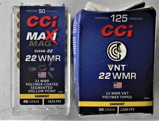 CCI .22 Magnum Ammo