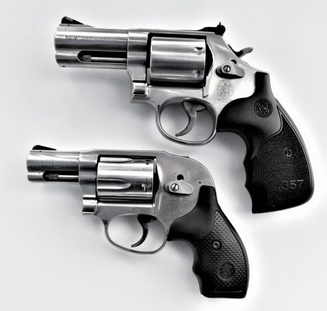 Smith and Wesson 686 Plus and J-Frame Revolvers