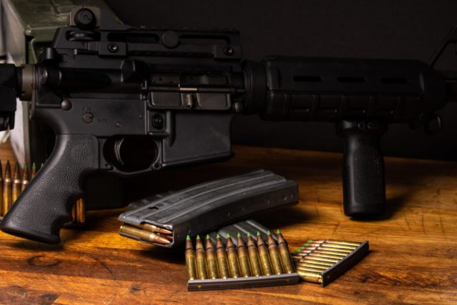 AR-15 and Ammo and Mag