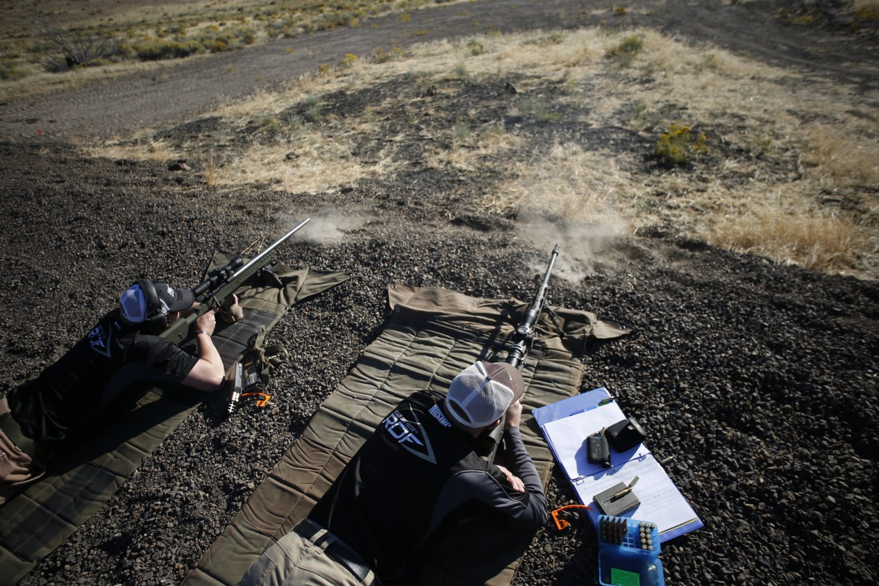long range rifle shooting when you load ammo