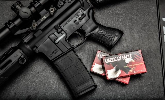 Federal American Eagle ammo and AR-15