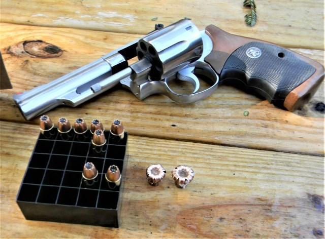 .357 Magnum Revolver and Hornady Ammo