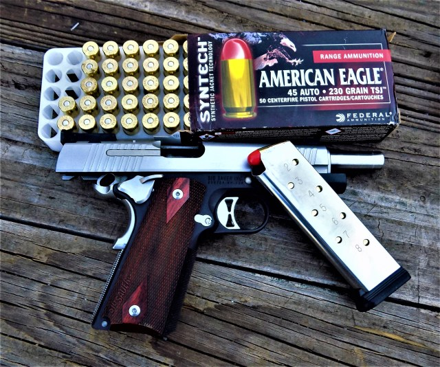 Federal Syntech Ammo and SIG 1911