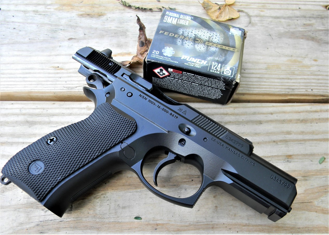 CZ P-01 with Federal Punch Ammo Box