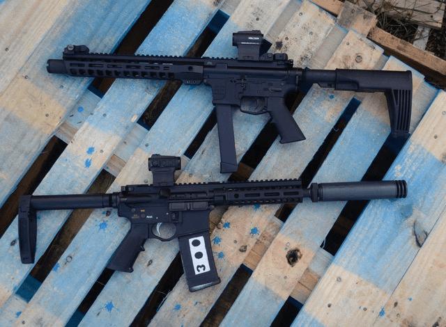 9mm AR and .300 Blackout AR