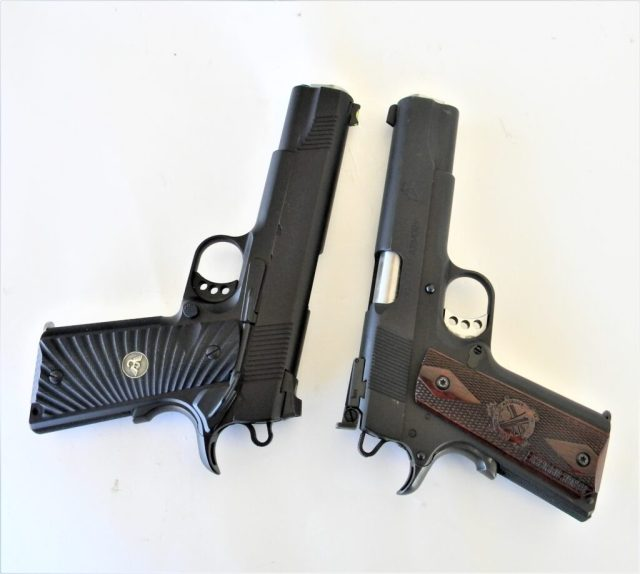 Wilson Combat 1911 and Springfield Armory 1911