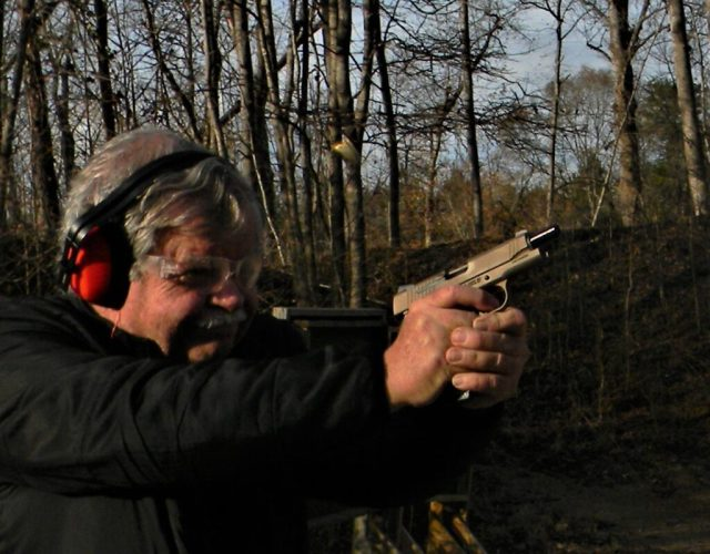 man shooting drills for older shooters