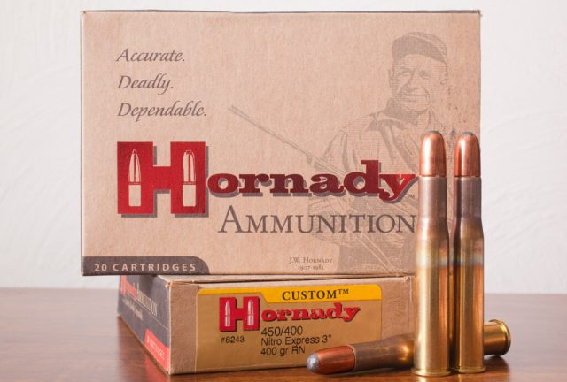 Hornady Rifle ammo and box