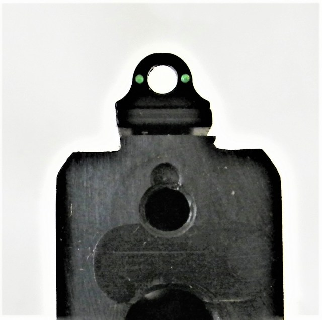 fiber-optic peep sight