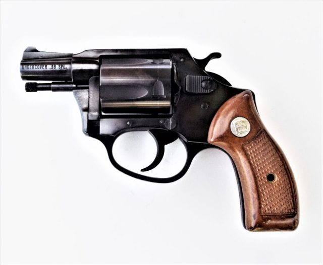 Smith & Wesson Snub Nose Revolver