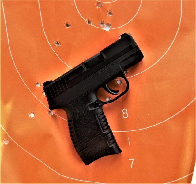 FN 503 on target