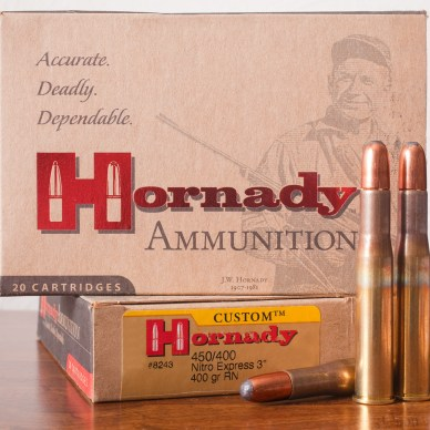 Hornady 450 Ammo and Box