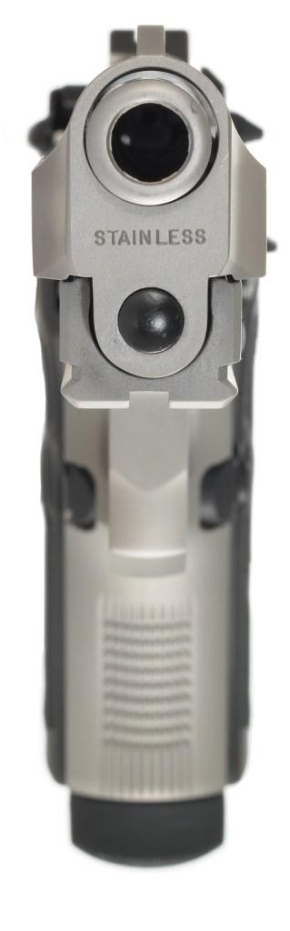 barrel crown on pistol