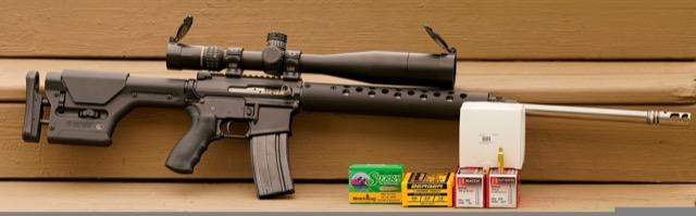Long Range One AR-15 Rifle