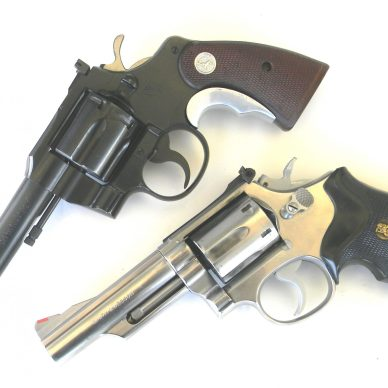 Colt and S&W Magnum Revolvers
