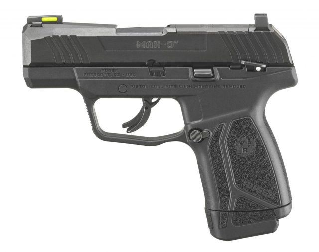 Ruger MAX-9 with manual thumb safety