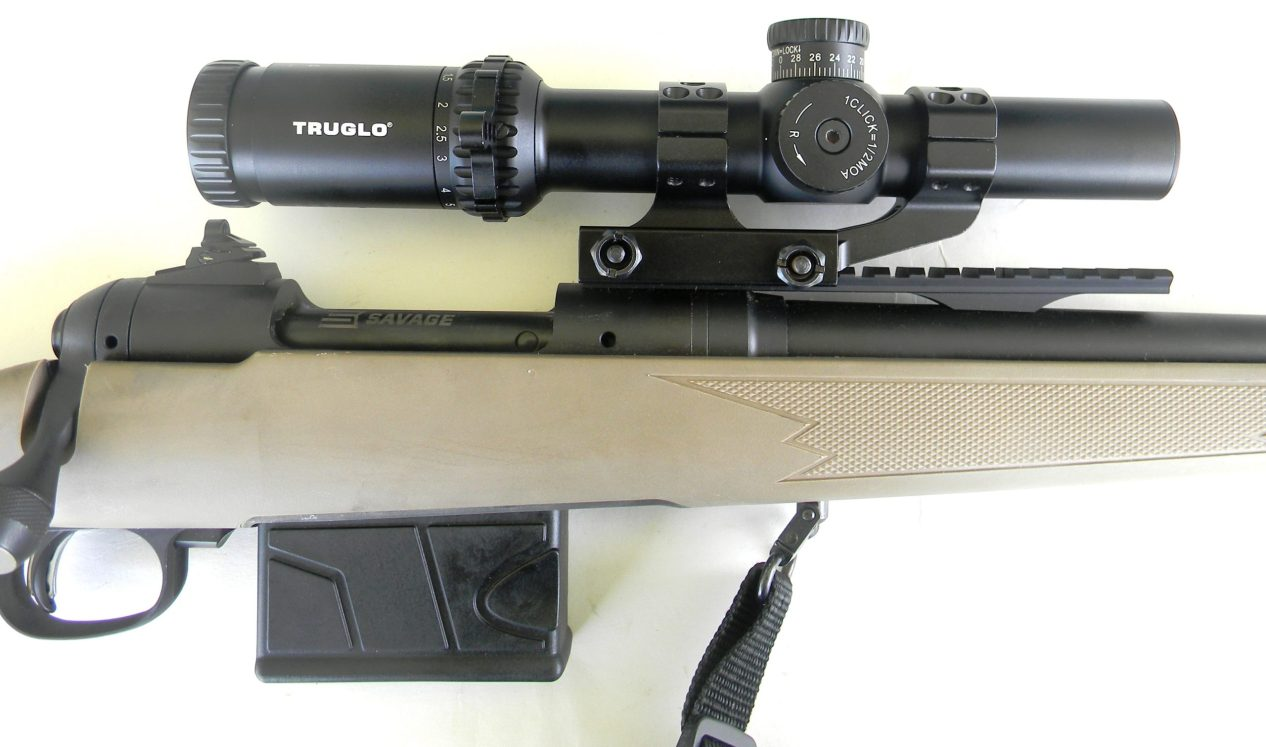 Savage Scout with rifle scope