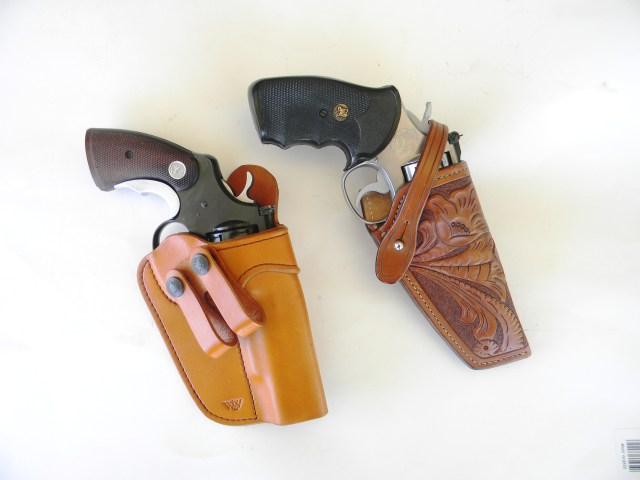 .357 Magnums in holsters