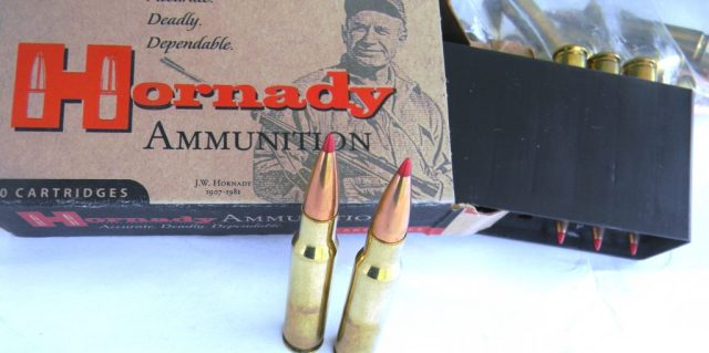 Hornady .308 Win Cartridges and Box