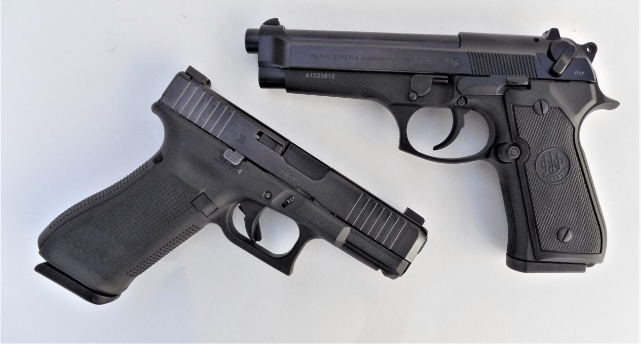 Two of the best 9mm pistols