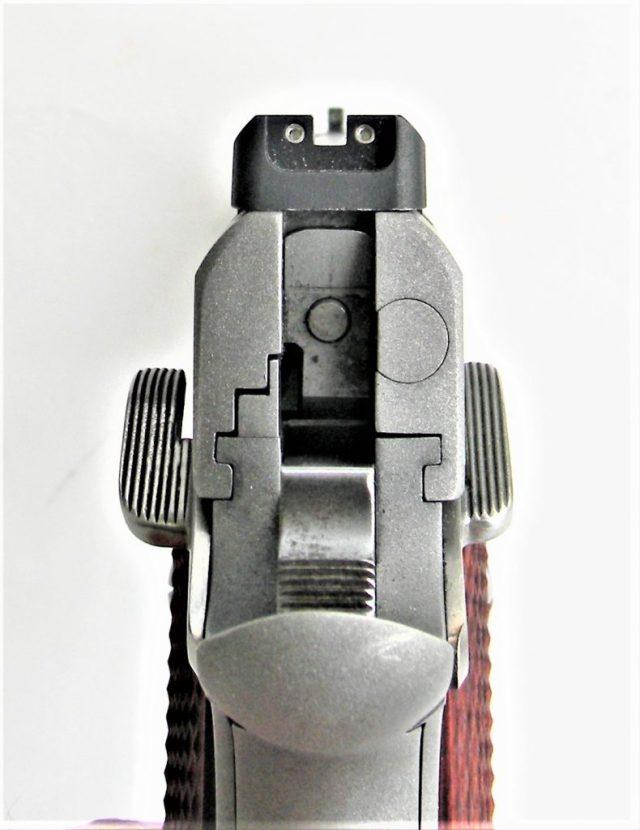 1911 pistol slide to frame fit