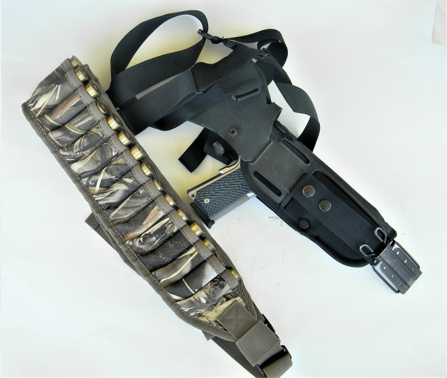 Two slings for apocalypse guns