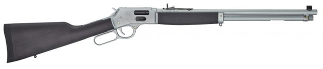 Henry stainless .357 Magnum lever-action rifles