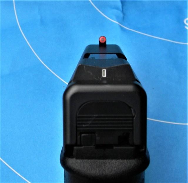 GLOCK pistol sights