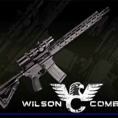 Wilson Combat Protector AR-15 with logo underneath