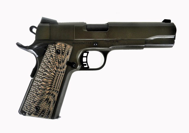 Rock Island FS 1911 pistol with g10 grips .45 ACP right profile