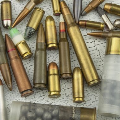 Assortment of different bullet types