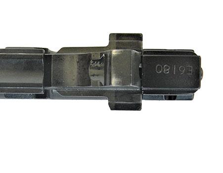 Barrel locking lug on a pistol barrel
