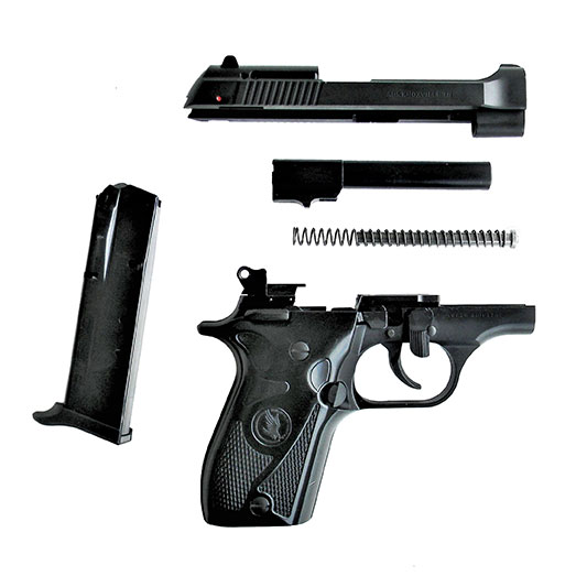 The Tisas Fatih pistol is simple to field strip and easy to maintain.