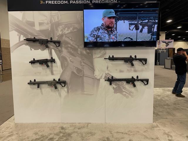 Daniel Defense Rifles on Wall