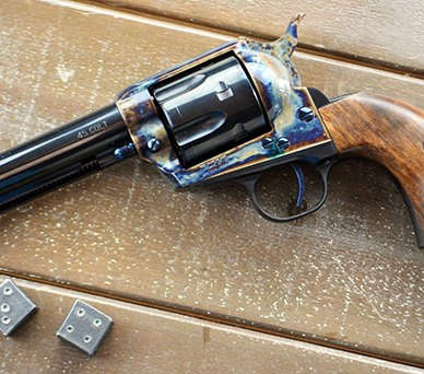 Aligned screw slots may be an expensive custom upgrade for many single action revolvers but comes standard on Standard Manufacturing's Single Action Revolver.