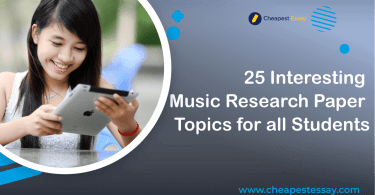 music research topics