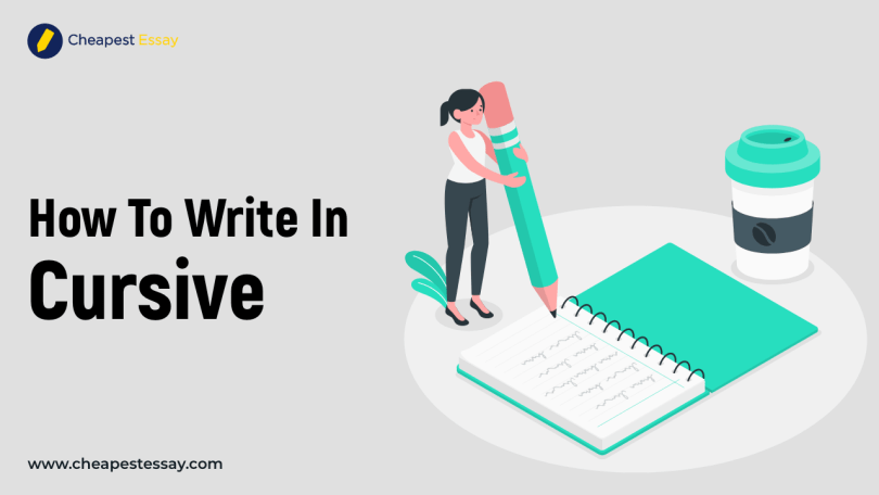 how to write in cursive