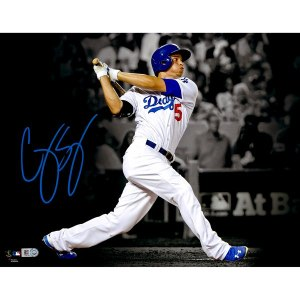 Autographed Los Angeles Dodgers Corey Seager Fanatics Authentic 11