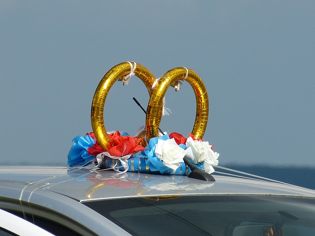 Wedding Limo Decoration