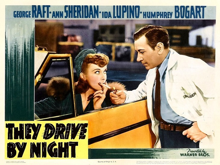 They Drive By Night 1940