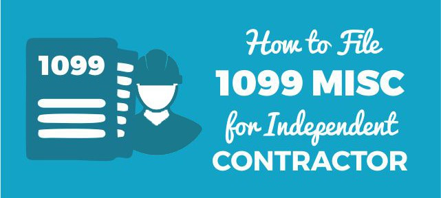 how to file 1099 misc