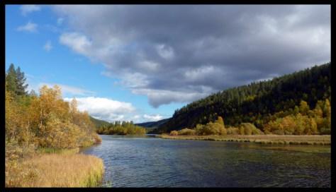 La rivière Lemmenjoki