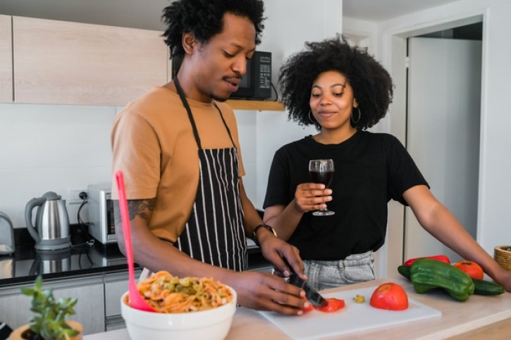Welcoming 2021 Mid-Covid A New Year's Celebration Guide- Make a meal together